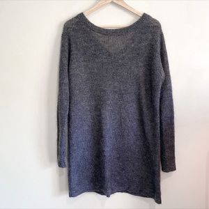 Country Road mohair blend longline jumper